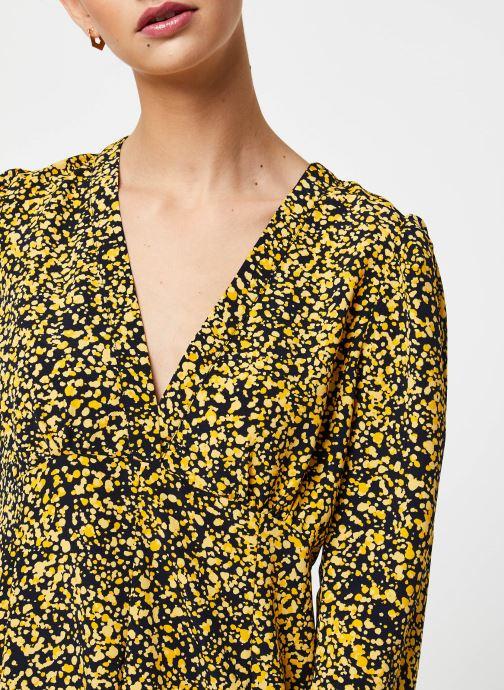 Vêtements Selected Femme Slfjuana LS Ankle Dress Noir vue face