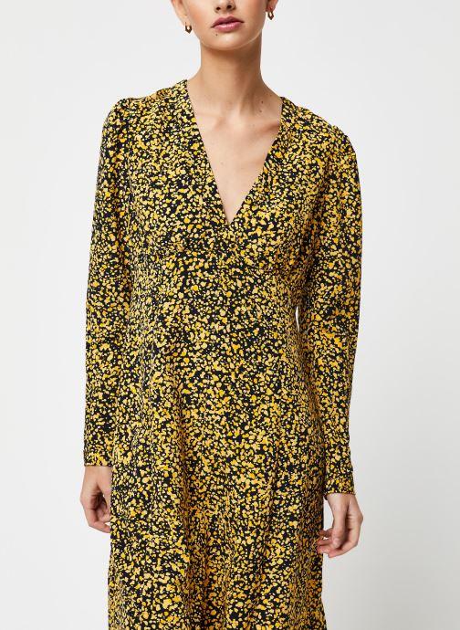 Vêtements Selected Femme Slfjuana LS Ankle Dress Noir vue droite