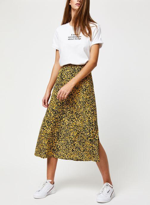 Vêtements Selected Femme Slfjuana HW Midi Skirt Noir vue bas / vue portée sac