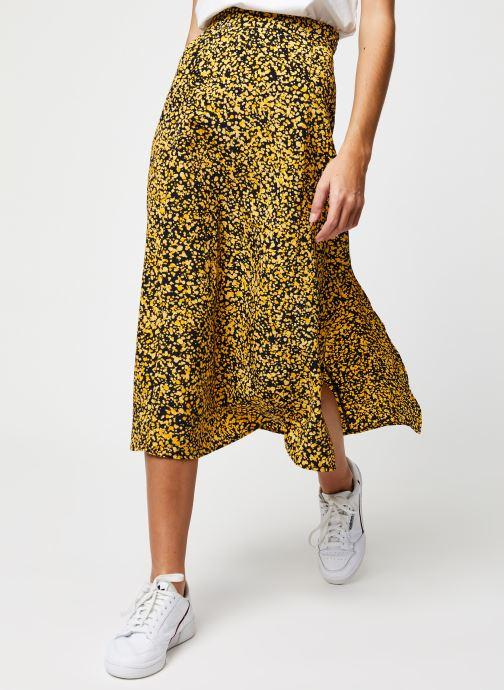 Vêtements Selected Femme Slfjuana HW Midi Skirt Noir vue détail/paire