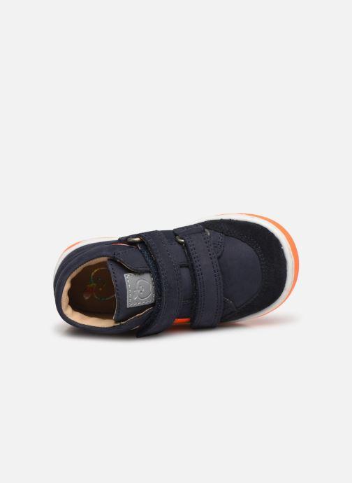 Bottines et boots Shoo Pom Oops USA Bleu vue gauche