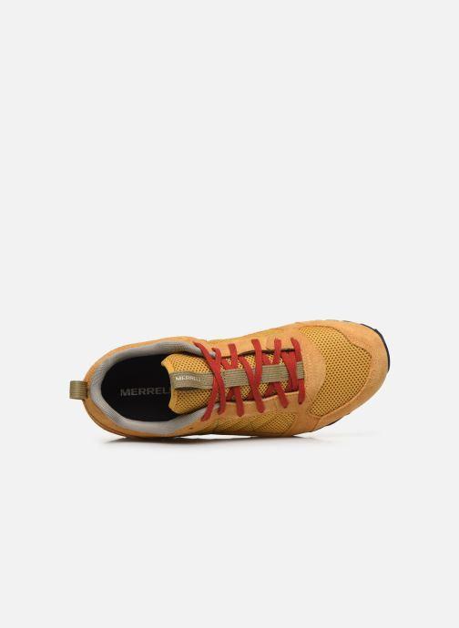 Zapatillas de deporte Merrell Alpine Sneaker Naranja vista lateral izquierda