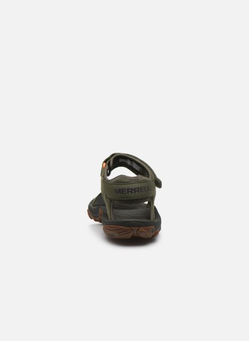 Sandales et nu-pieds Merrell Kahuna Web Vert vue droite