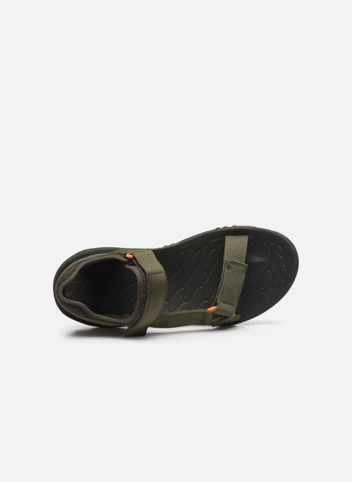 Sandales et nu-pieds Merrell Kahuna Web Vert vue gauche