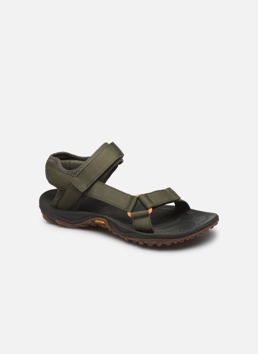 Sandales et nu-pieds Merrell Kahuna Web Vert vue détail/paire