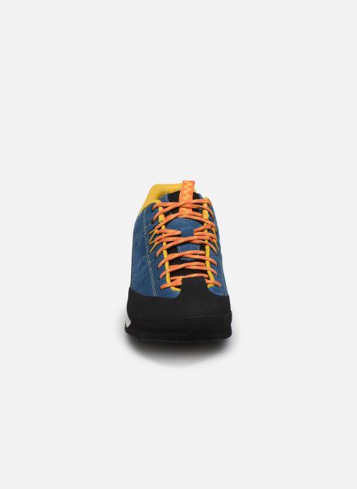 Chaussures de sport Merrell Catalyst Suede Bleu vue portées chaussures