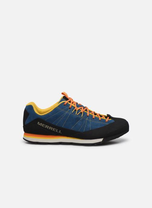 Chaussures de sport Merrell Catalyst Suede Bleu vue derrière