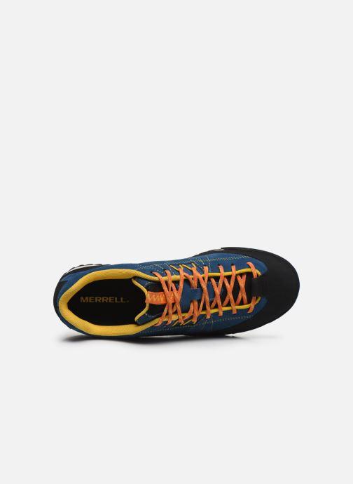 Chaussures de sport Merrell Catalyst Suede Bleu vue gauche