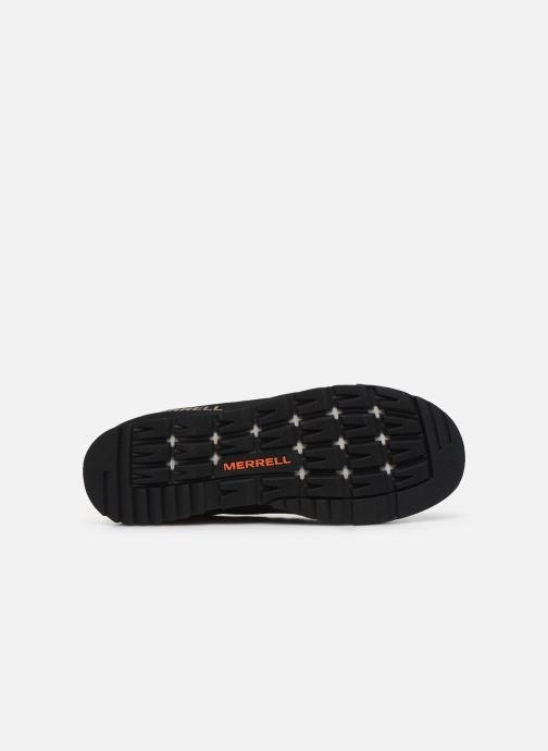 Chaussures de sport Merrell Catalyst Suede Bleu vue haut