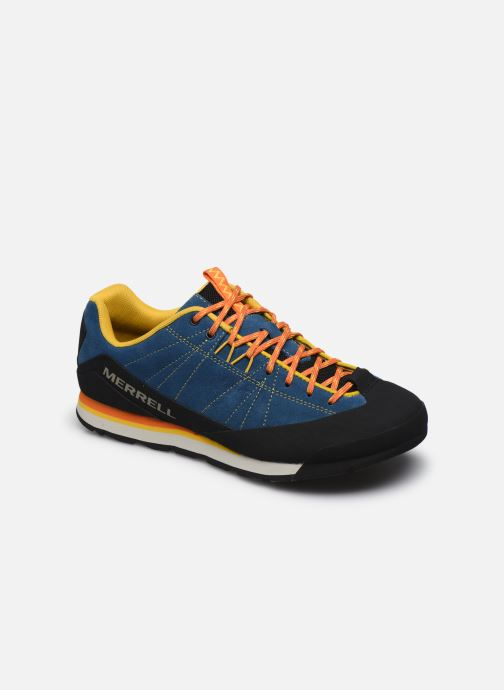 Chaussures de sport Merrell Catalyst Suede Bleu vue détail/paire