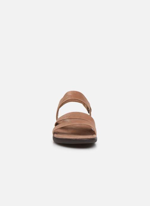 Sandales et nu-pieds Merrell District Kanoya Strap W Beige vue portées chaussures