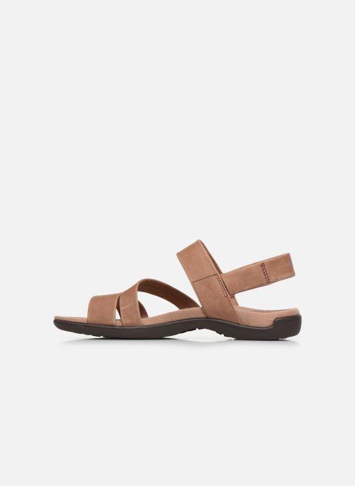 Sandales et nu-pieds Merrell District Kanoya Strap W Beige vue face