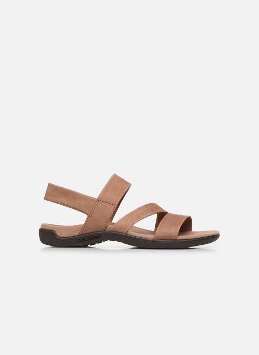 Sandales et nu-pieds Merrell District Kanoya Strap W Beige vue derrière
