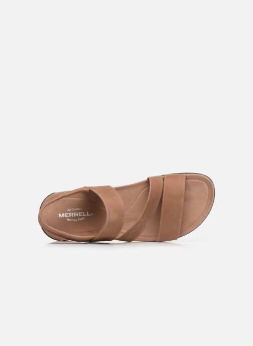 Sandales et nu-pieds Merrell District Kanoya Strap W Beige vue gauche