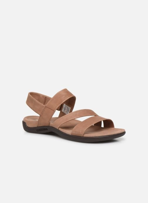 Sandales et nu-pieds Merrell District Kanoya Strap W Beige vue détail/paire