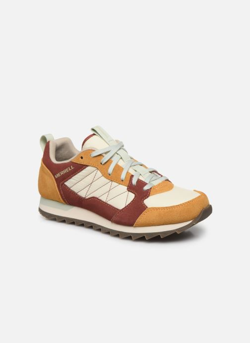Chaussures de sport Merrell Alpine Sneaker W Beige vue détail/paire