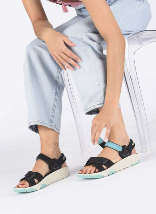 Sandales et nu-pieds Merrell Belize Convert W Noir vue bas / vue portée sac