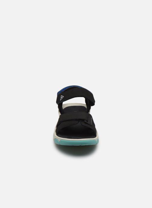 Sandales et nu-pieds Merrell Belize Convert W Noir vue portées chaussures
