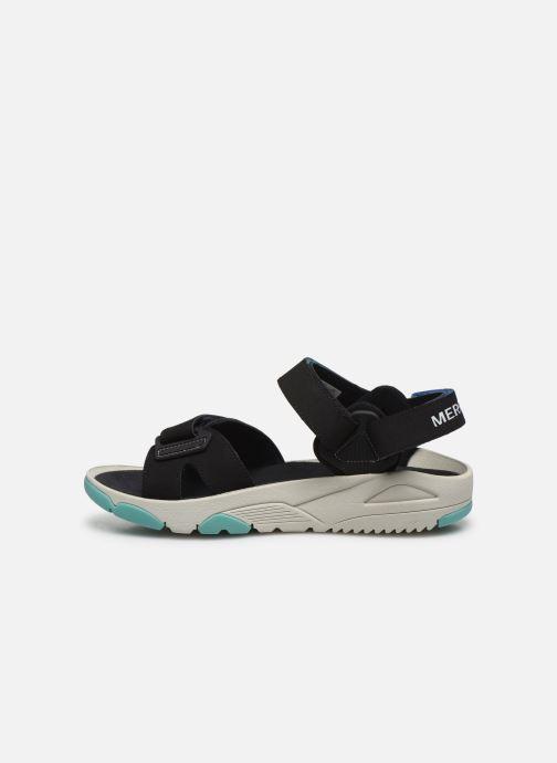 Sandales et nu-pieds Merrell Belize Convert W Noir vue face