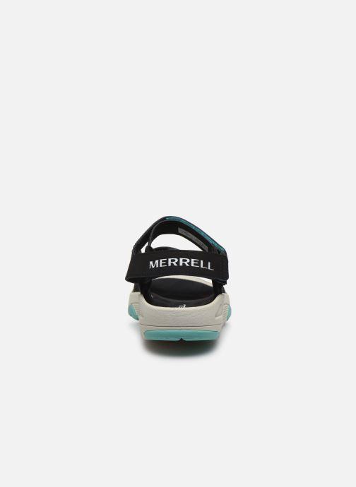 Sandales et nu-pieds Merrell Belize Convert W Noir vue droite