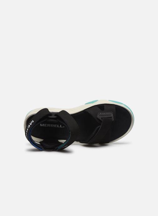 Sandales et nu-pieds Merrell Belize Convert W Noir vue gauche