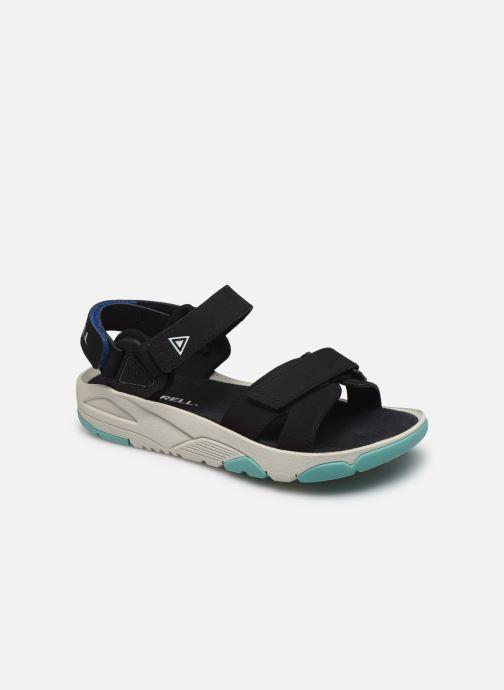 Sandales et nu-pieds Merrell Belize Convert W Noir vue détail/paire