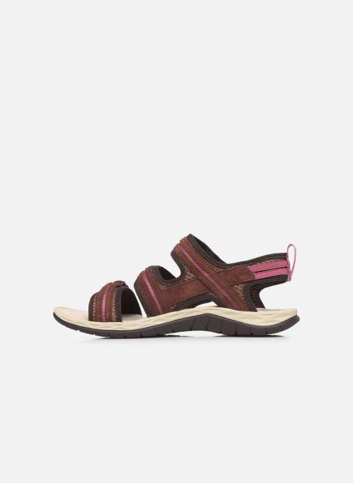 Sandales et nu-pieds Merrell Siren 2 Strap W Bordeaux vue face
