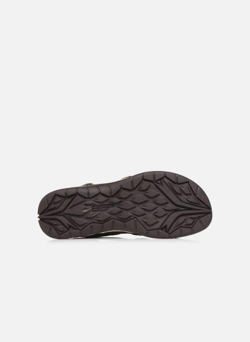 Sandales et nu-pieds Merrell Siren 2 Strap W Bordeaux vue haut