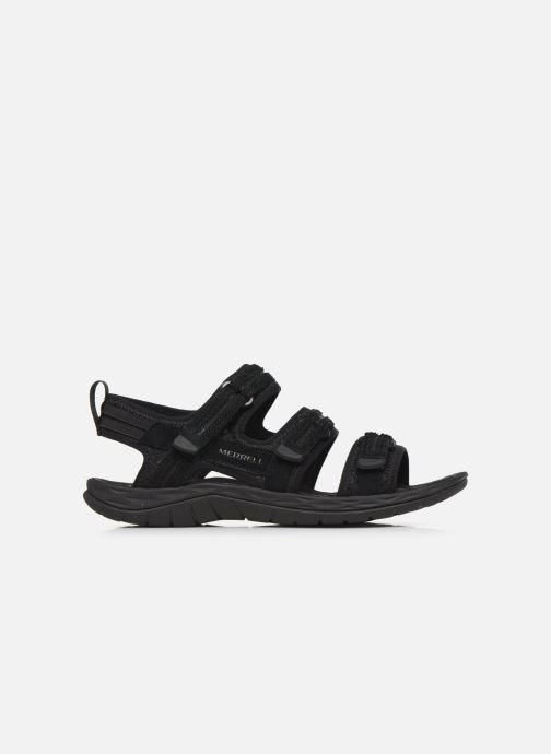 Sandales et nu-pieds Merrell Siren 2 Strap W Noir vue derrière