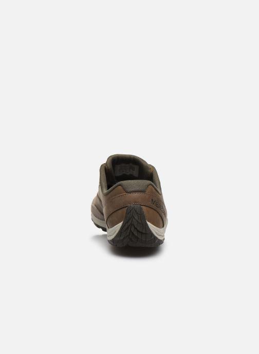 Zapatillas de deporte Merrell Trail Glove 5 Ltr Marrón vista lateral derecha