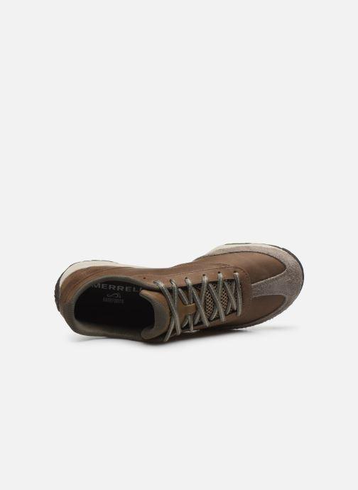 Zapatillas de deporte Merrell Trail Glove 5 Ltr Marrón vista lateral izquierda