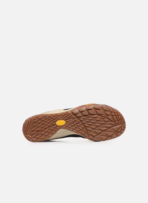 Chaussures de sport Merrell Trail Glove 5 Ltr Noir vue haut