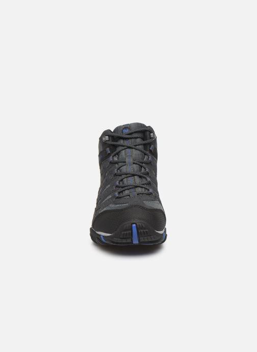 Chaussures de sport Merrell Accentor Sport Mid Gtx Noir vue portées chaussures