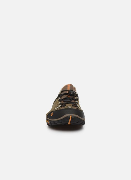 Zapatillas de deporte Merrell All Out Blaze Sieve Verde vista del modelo