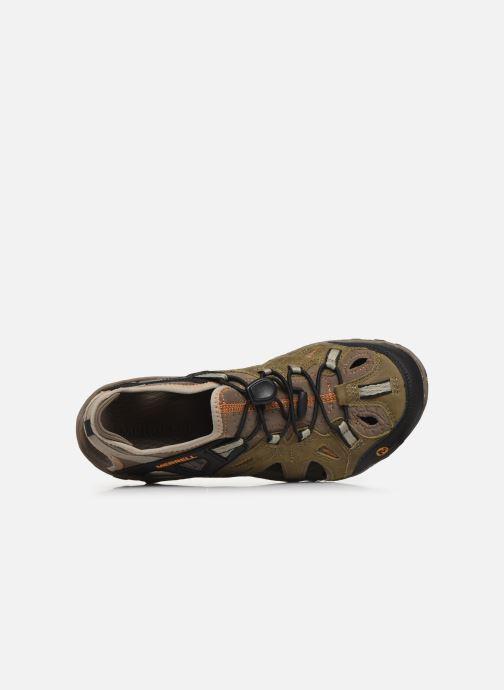Zapatillas de deporte Merrell All Out Blaze Sieve Verde vista lateral izquierda