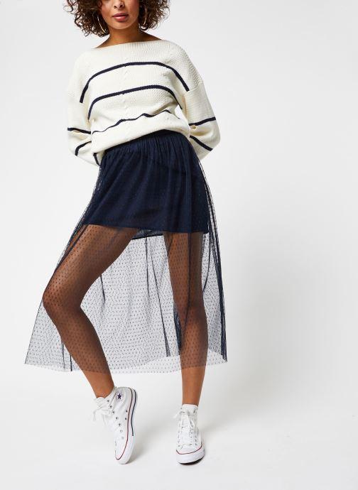 Vêtements Vila Knit Visunset Blanc vue bas / vue portée sac
