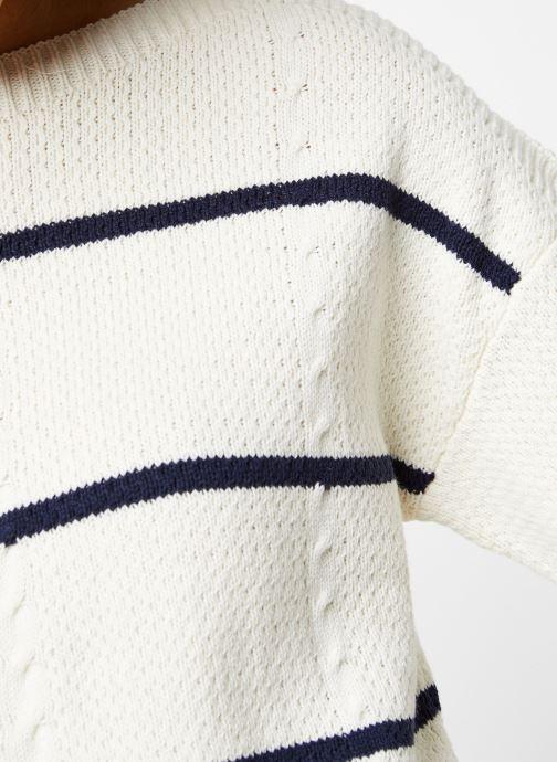 Vêtements Vila Knit Visunset Blanc vue face