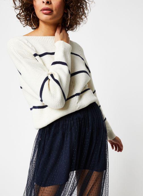 Vêtements Vila Knit Visunset Blanc vue détail/paire