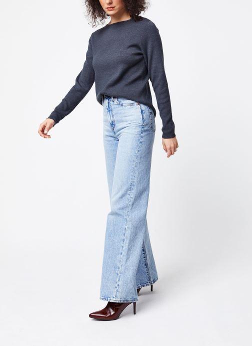 Vêtements Vila Knit Vilacal Gris vue bas / vue portée sac