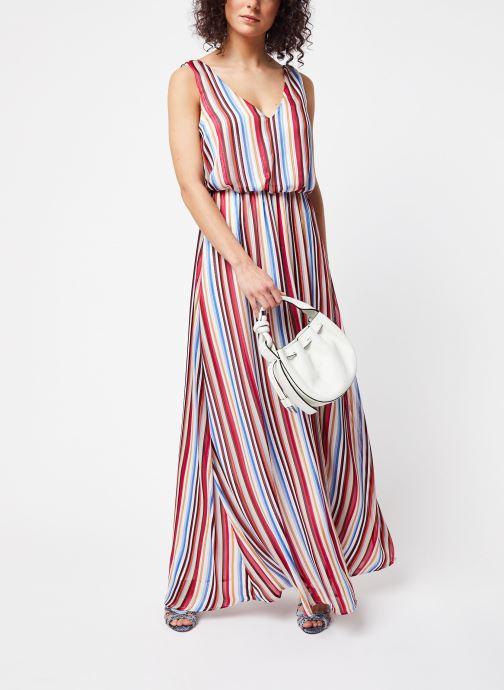 Vêtements Vila Long Dresses Visereia Bleu vue bas / vue portée sac