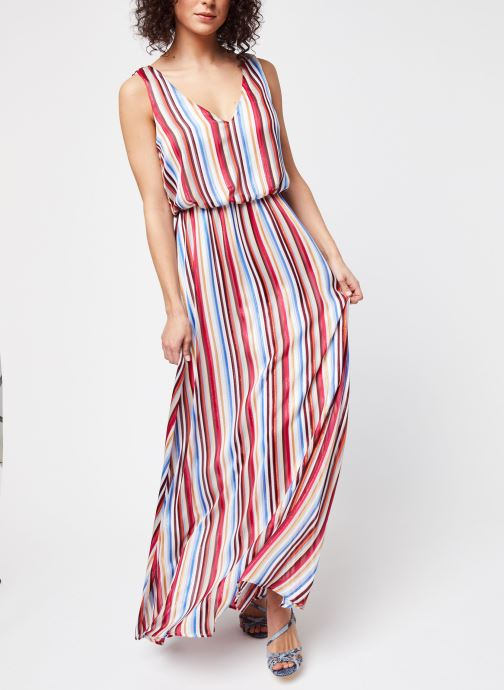 Vêtements Vila Long Dresses Visereia Bleu vue détail/paire