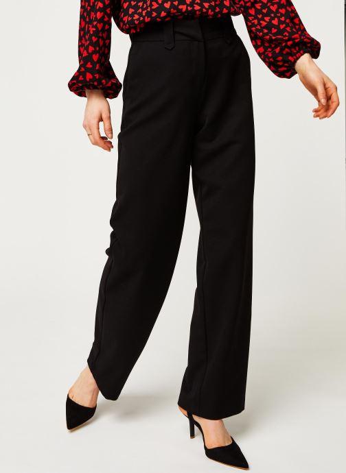 Vêtements Vila Pants Viwillow Noir vue détail/paire