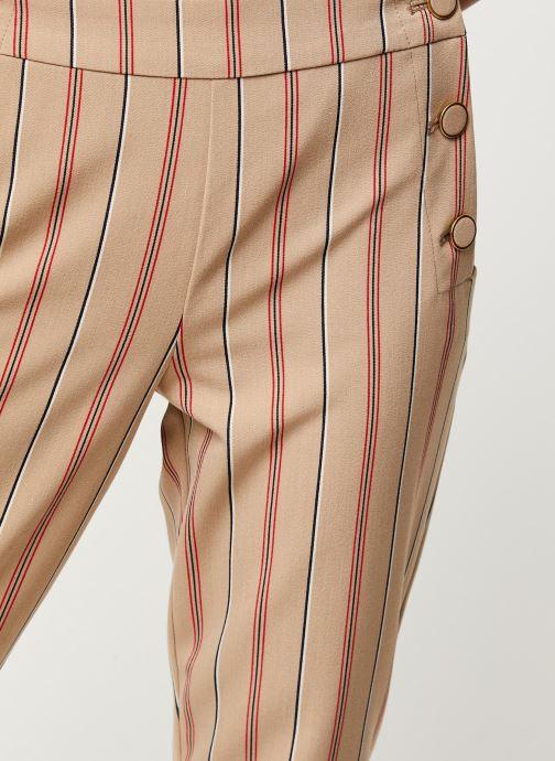 Vêtements Vila Pants Viwillow Beige vue face