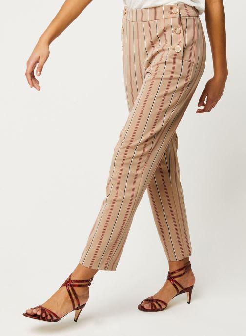 Vêtements Vila Pants Viwillow Beige vue détail/paire