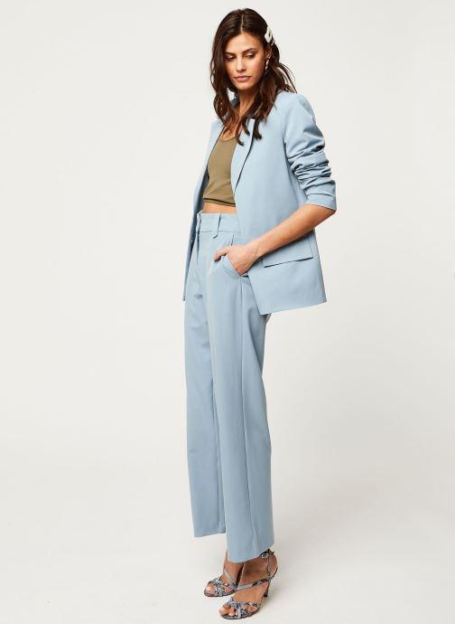 Vêtements Vila Blazers Viwillow Bleu vue bas / vue portée sac