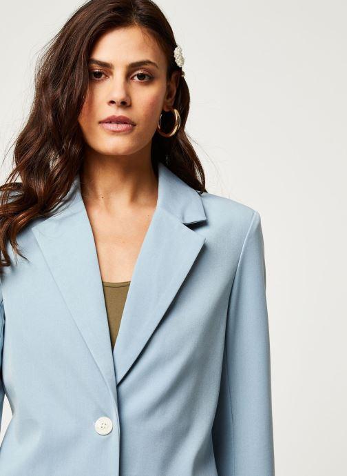 Vêtements Vila Blazers Viwillow Bleu vue face