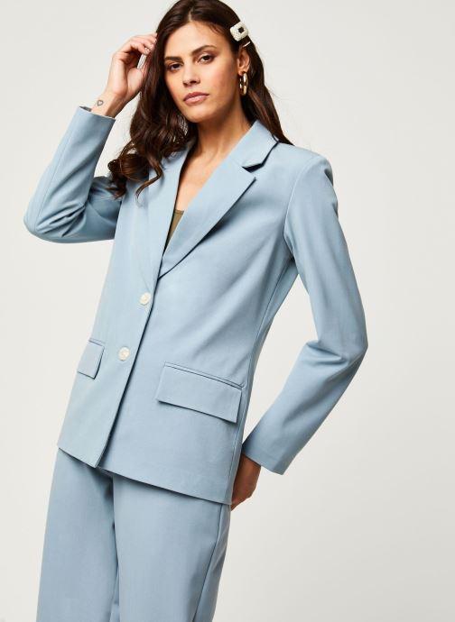 Vêtements Vila Blazers Viwillow Bleu vue droite