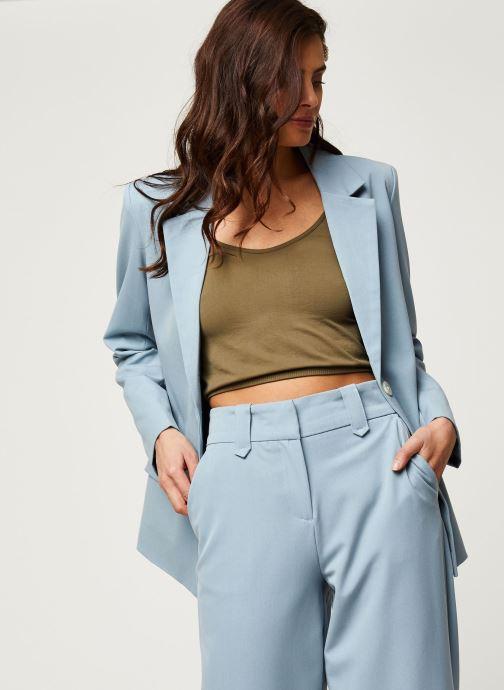 Vêtements Vila Blazers Viwillow Bleu vue détail/paire