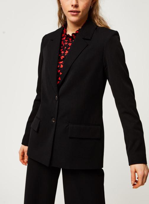 Vêtements Vila Blazers Viwillow Noir vue droite
