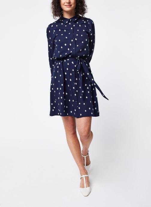 Vêtements Vila Short Dresses Visuvita Bleu vue bas / vue portée sac